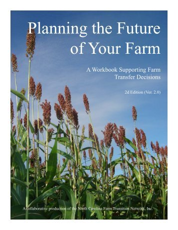 Planning the Future of Your Farm - Virginia Department of ...
