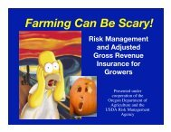 Growers face many kinds of risk…