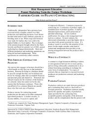 Farmers Guide to Peanut Contracting - National Ag Risk Education ...