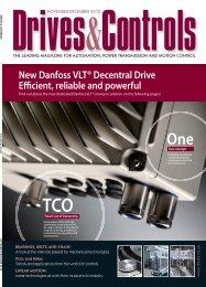 New Danfoss VLT® Decentral Drive E cient, reliable and powerful