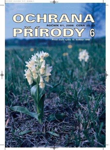 zde - Časopis Ochrana přírody