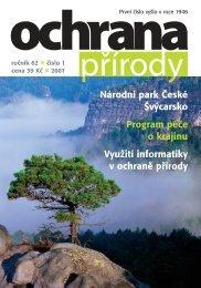Národní park České Švýcarsko - Časopis Ochrana přírody