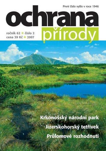 Cíle a limity ochrany krajinného rázu - Časopis Ochrana přírody