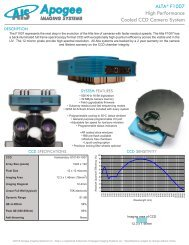 Alta F1007 Specifications - Apogee Instruments, Inc.