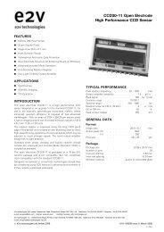 CCD30-11 OE - Apogee Instruments, Inc.