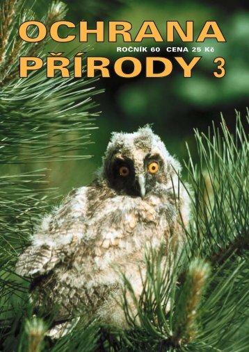 OP 3-05 - Časopis Ochrana přírody