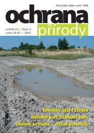 Ochrana přírody č. 4/2007 - Časopis Ochrana přírody