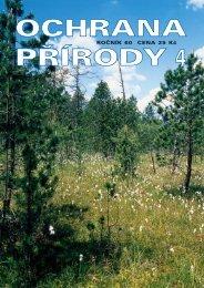 OP 4-05 - Časopis Ochrana přírody