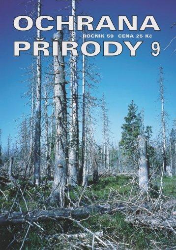 Ochrana přírody č. 9/2004