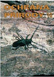 OP 10-05 - Časopis Ochrana přírody