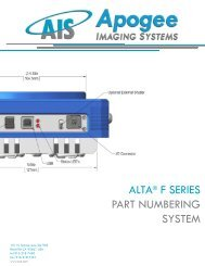 alta® f series part numbering system - Apogee Instruments, Inc.