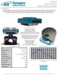 Alta F9 Specifications - Apogee Instruments, Inc.