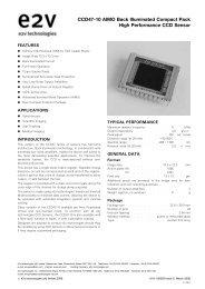 E2V CCD47-10