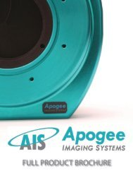Product Overview Brochure - Apogee Instruments, Inc.