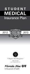 Brochure - Collegiate Risk Management