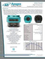 Aspen CG260 Specifications - Apogee Instruments, Inc.