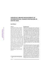 14-Strategic Brand management of International Fashion ... - Mimts.org