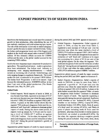 Export Prospects of Seeds from India-10.pdf - Mimts.org
