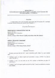 DODATOK č. 1 - Ministerstvo zahraničných vecí SR