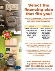 Select the financing plan that fits you! - Midwest Dental