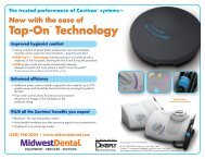 Tap-On™ Technology - Midwest Dental