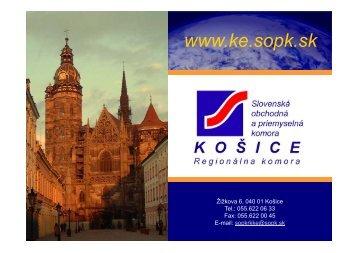 Prezentácia SOPK - Košice