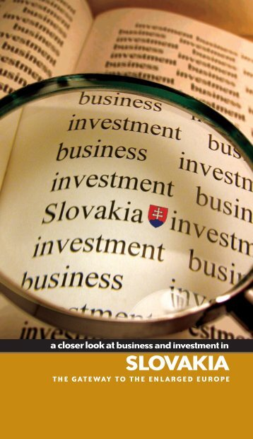 Slovakia Business Investment