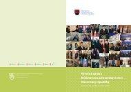 Výročná správa Ministerstva zahraničných vecí Slovenskej republiky