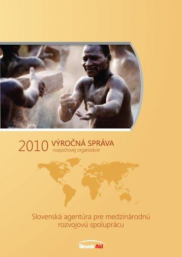 výročná správa za rok 2010 - Ministerstvo zahraničných vecí SR