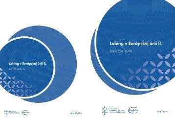Lobing v Európskej únii II. - Ministerstvo zahraničných vecí SR