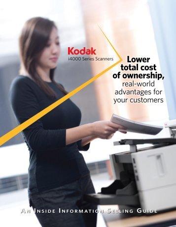 Kodak i4000 Series Brochure - NewWave Technologies Inc.