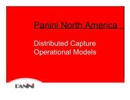 Distributed Capture Operational Models