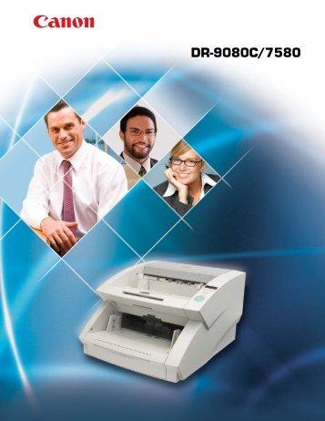DR-7580 Brochure - Micrographics Inc.