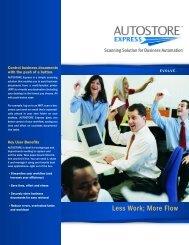 AUTOSTORE Express - NewWave Technologies Inc.