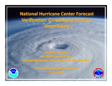 Along- and Cross-Track Errors - National Hurricane Center