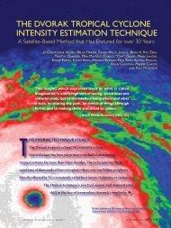 The Dvorak Tropical Cyclone Intensity Estimation Technique