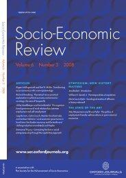 Front Matter (PDF) - Socio-Economic Review - Oxford Journals