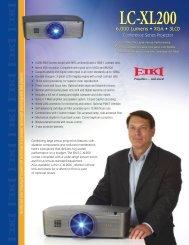 LC-XL200 LC-XL200L - Audio General Inc.