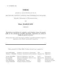 Ph.D. dissertation - LRI