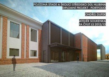 Ondřej Dufek - portfolio - ČVUT v Praze, Fakulta architektury