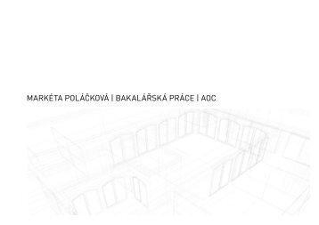 portfolio - ČVUT v Praze, Fakulta architektury