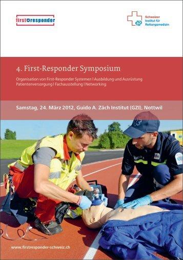 4. First-Responder Symposium - Heinz Stampfli AG