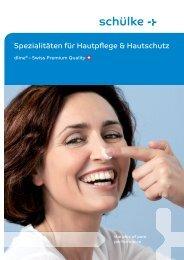 Spezialitäten für Hautpflege & Hautschutz - Heinz Stampfli AG