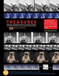 TREASURES - National Film Preservation Foundation