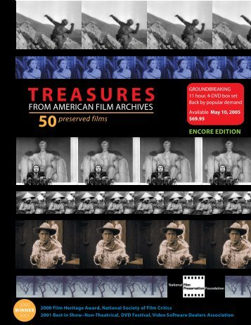 TREASURES - National Film Preservation Foundation