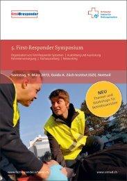 5. First-Responder Symposium - Heinz Stampfli AG