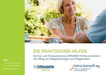 Katalog Ess- und Trinksysteme Ornamin - Heinz Stampfli AG