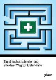 PLUM Erste-Hilfe Katalog - Heinz Stampfli AG