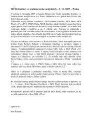 MČR ve stolním tenise družstev - I.PSKN Praha
