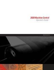 3600 Machine Control - Kodak